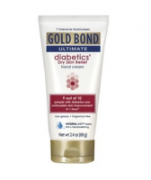 Gold Bond Ultimate Diabetic Dry Skin Relief Hand Cream, 2.4 oz [041167053607]
