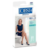 JOBST SupportWear Mild Compression Knee Highs Ultra Sheer Shoe Size 4.5 - 6.5, Sun Bronze, 1 Pair [035664192297]