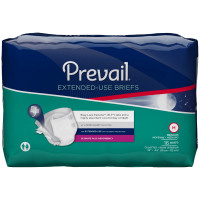 Prevail Maximum Plus Absorbency Extended Use Incontinence Briefs, Medium - 16 ea [090891600113]