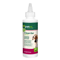PetNC Natural Care Ear Cleansing for All Pets, 4 oz [740985276013]