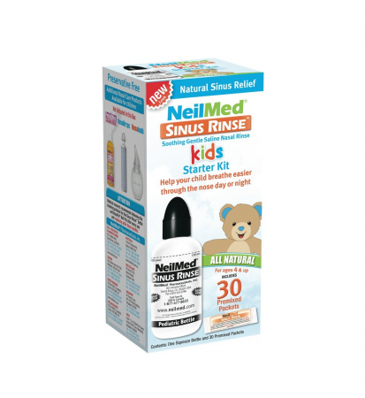 NeilMed Sinus Rinse Pediatric Starter Kit 1 Each [705928014008]
