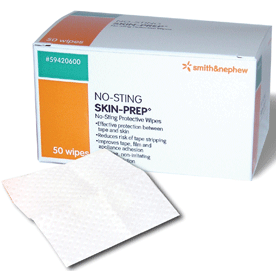 No-Sting Skin-Prep Wipes 50 ea [040565116730]
