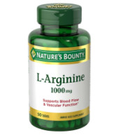 Nature's Bounty L-Arginine 1000 mg Tablets 50 ea [074312077609]
