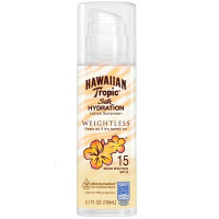 Hawaiian Tropic Silk Hydration Weightless Sunscreen Lotion SPF 15 5.1 oz [075486090296]