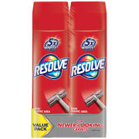 Resolve Dual Pack High Traffic Carpet Foam (2 Cans x 22 oz), Cleans Freshens Softens & Removes Stains 44 oz [019200846486]