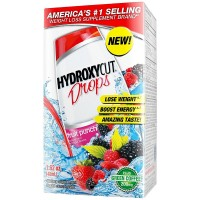 HYDROXYCUT  Weight Loss Drops, Fruit Punch 1.62 oz [631656800708]