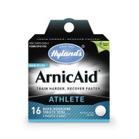 Hyland's ArnicAid Athlete Pain Relief From Injury Quick-Dissolving Tablets, 16 ea [354973022935]