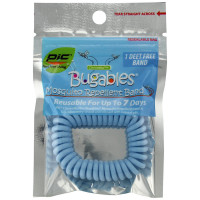 Pic Bugables Mosquito Repellent Band, Assorted Colors 1 ea [072477983759]