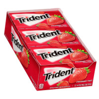 Trident Strawberry Twist Sugar Free Gum, 12 ea [012546011631]