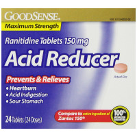 Good Sense Acid Reducer Ranitidine Tablets 150 mg 24 ea [370030148714]