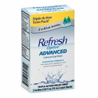 REFRESH Optive Advanced Lubricant Eye Drops 0.66 fl oz (2 x 0.33 fl oz) [300234307204]