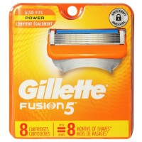 Gillette Fusion 5 Power Cartridges 8 ea [047400156883]