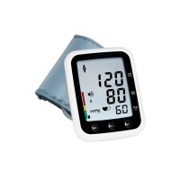 Zewa Automatic Blood Pressure Monitor Talk, White, 1 ea [682891390004]