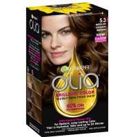 Garnier Olia Ammonia Free Hair Color [5.3] Medium Golden Brown 1 Each [603084294008]
