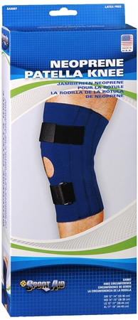 Sport Aid Patella Knee Neoprene X-Large 1 Each [763189017718]