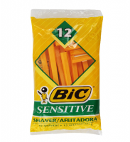 Bic Single Blade Shavers, Sensitive 12 ea [070330708419]