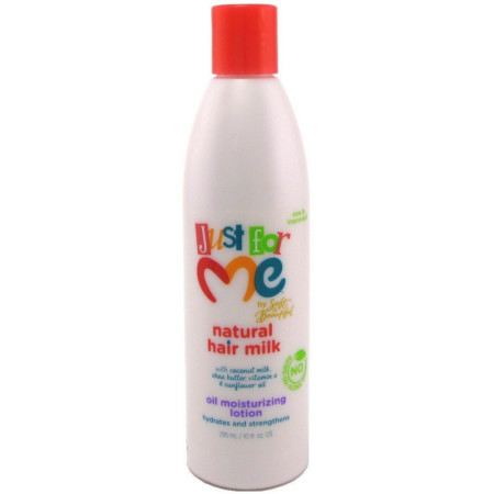 Just For Me Hair Milk Oil Moisturizing Lotion 10 Oz 802535367104