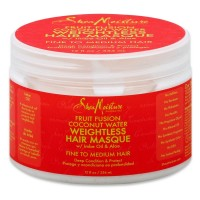 Shea Moisture Fruit Fusion Coconut Water Weightless Hair Masque 12 oz [764302226475]