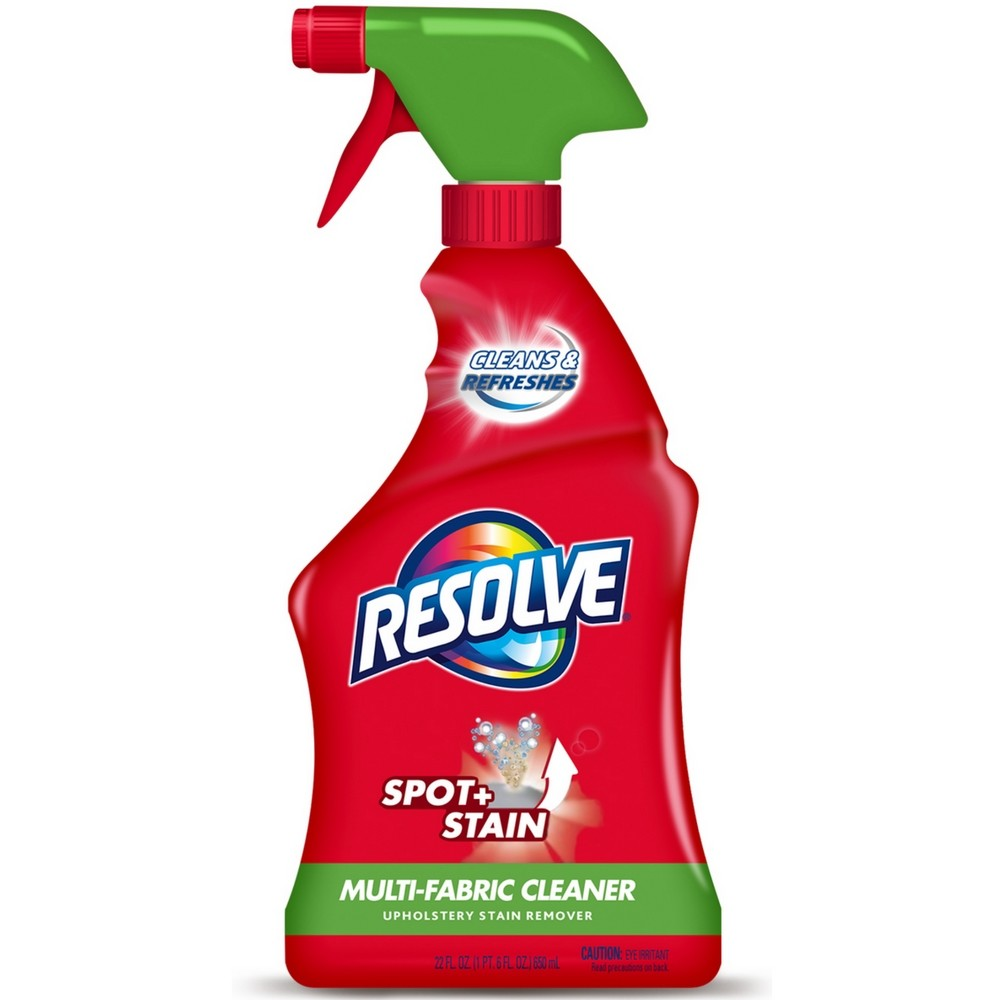 Resolve Upholstery Cleaner Stain Remover Multi Fabric 22 Oz 1 Pack