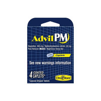 Advil PM 200 mg Ibuprofen Nighttime Sleep, 4 ea  [366715973320]