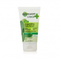 Garnier Clean + Invigorating Daily Scrub for Normal Skin 5 oz [603084412051]