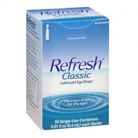 REFRESH Classic Lubricant Eye Drops Single-Use Containers 50 Each [300230506502]