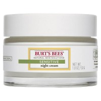 Burt's Bees Natural Skin Solutions Night Cream, Sensitive 1.8 oz [792850014206]