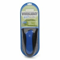 ProFoot Workaday Gel Insoles Mens Sizes 8-13 1 Pair [080376027900]