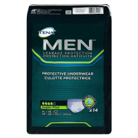 Tena Incontinence Underwear for Men, Protective, XLarge, 14 Count [768702819206]