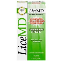 LiceMD Head Lice Treatment Kit, 4 Ounce [062200003489]