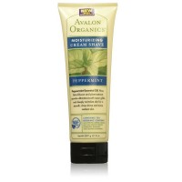 Avalon OrganicsMoisturizing Cream Shave, Peppermint 8 oz [654749331125]
