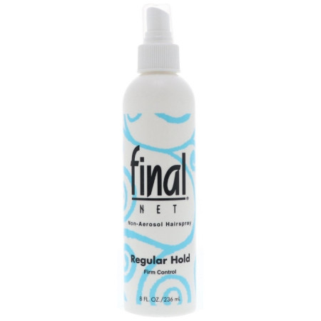 Final Net Non-Aerosol Regular Hold Hairspray, 8 oz [827755020400]