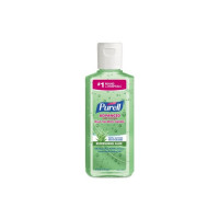 Purell  Hand Sanitizer with Aloe Alcohol Ethyl Gel Bottle, 4 oz [073852096316]