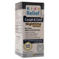 Homeolab USA Kids Relief Cough & Cold Nighttime 3.4 oz [778159107603]