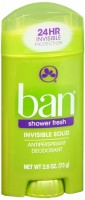 Ban Anti-Perspirant Deodorant Invisible Solid Shower Fresh 2.60 oz [019045010288]