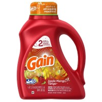 Gain Liquid Laundry Detergent, Apple Mango Tango 50 oz [037000127710]