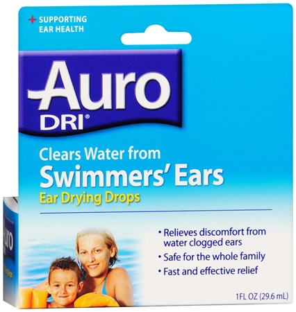 Auro-Dri Ear Water-Drying Aid 1 oz [363736327002]