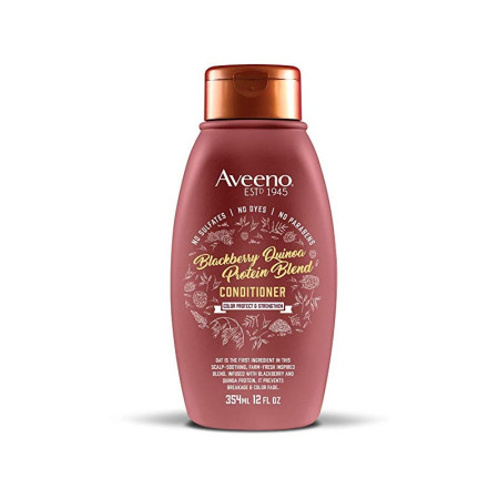 Aveeno Blackberry Quinoa Protein Blend Conditioner, 12 oz  [052800673168]