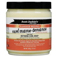 Aunt Jackie's Flaxseed Recipes Curl Mane-tenance Defining Curl Whip 15 oz [034285671150]