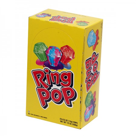 Ring Pop Candy 24 ct [041116006258]