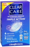 Clear Care Travel Pack 3 oz [047113609034]